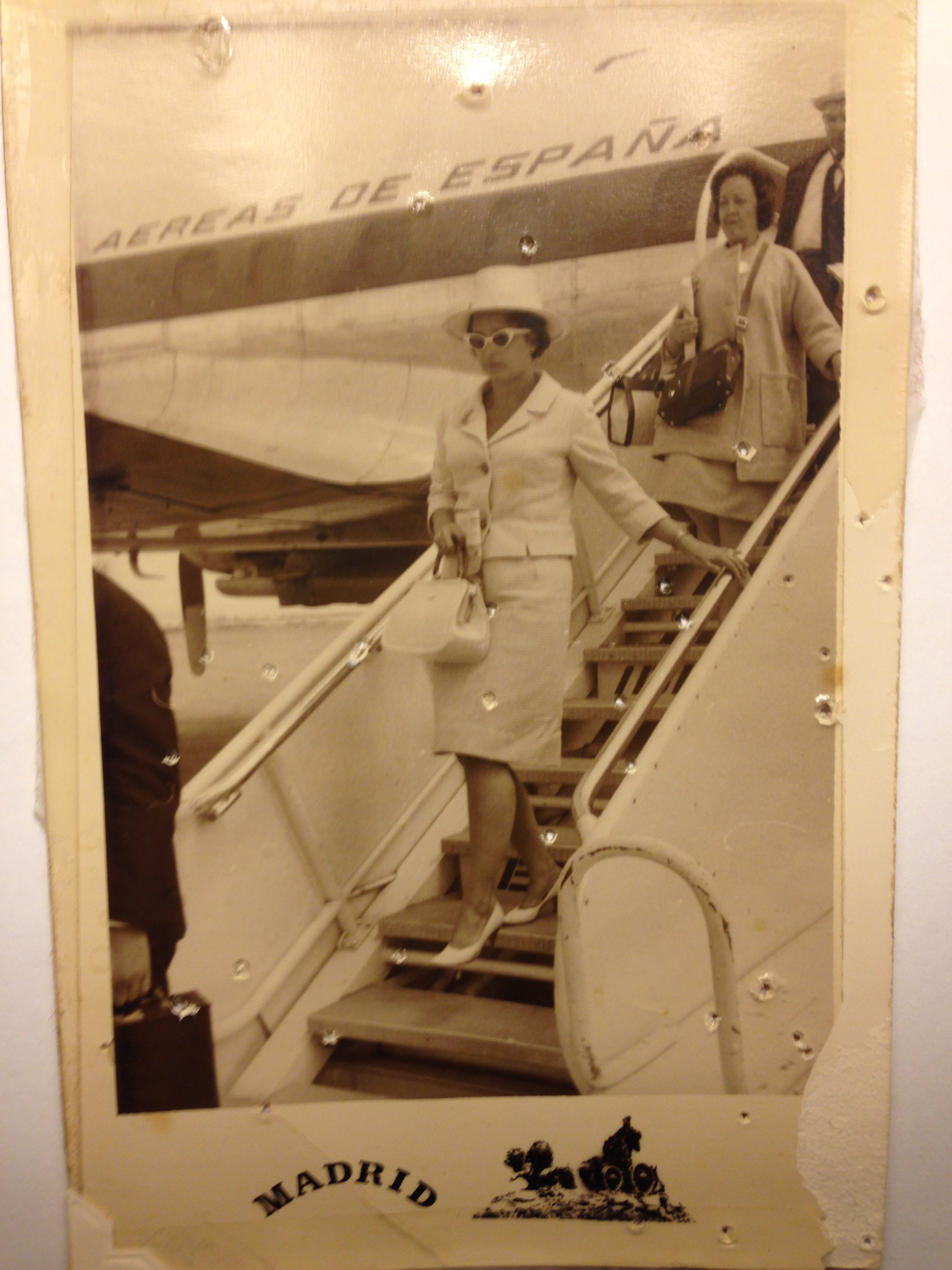 Founder Fran Beard on her way to Madrid