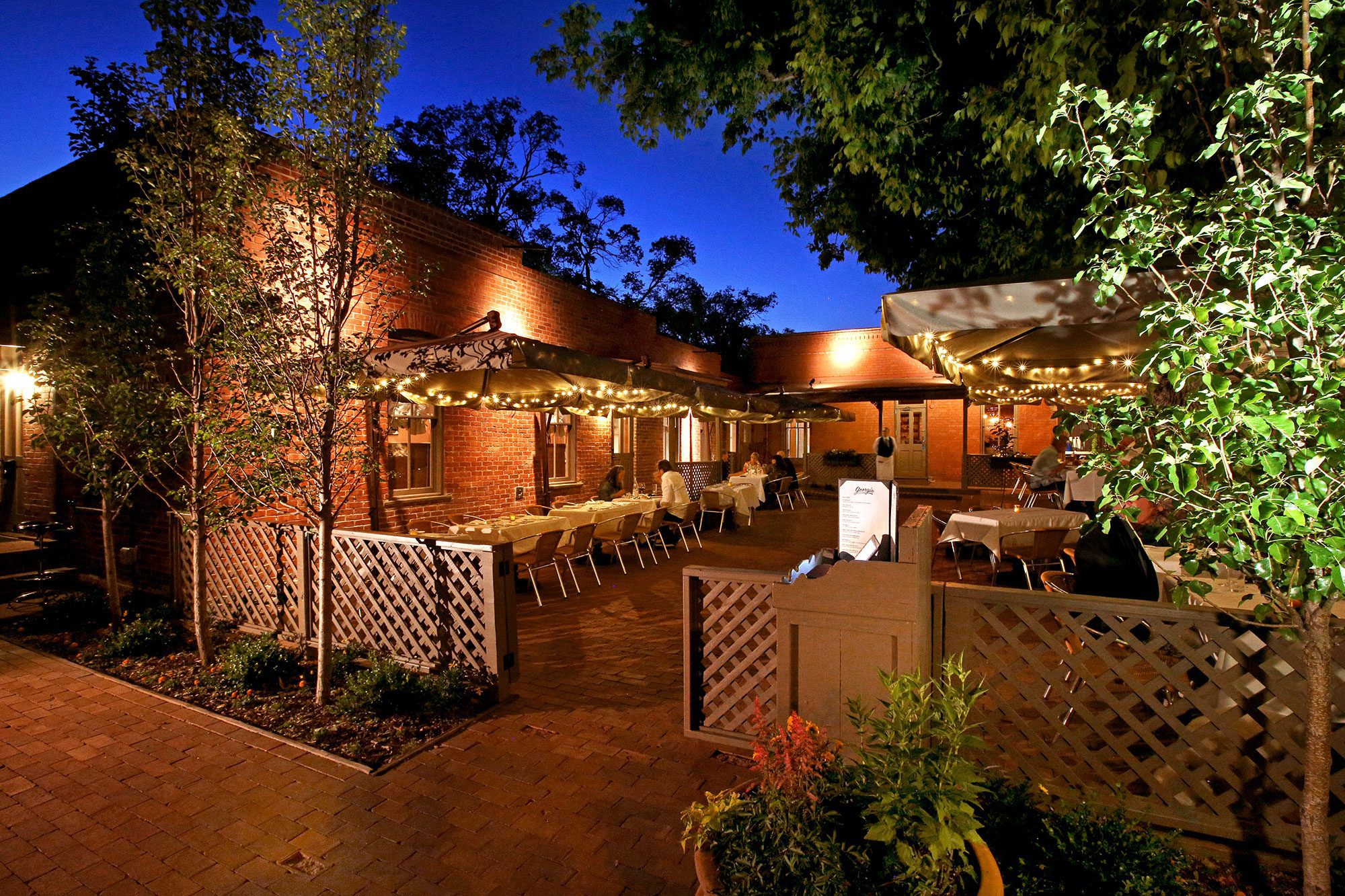Restaurant Georgia Opens In Santa Fe Welcome To All