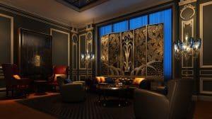 Kleber Lounge, Peninsual Paris